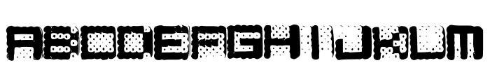 Hamarama Font UPPERCASE