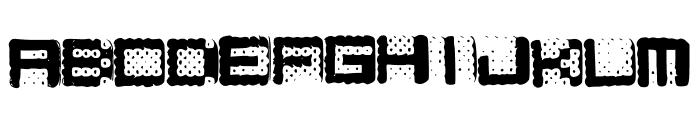Hamarama Font LOWERCASE