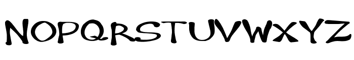 Hambone Font UPPERCASE