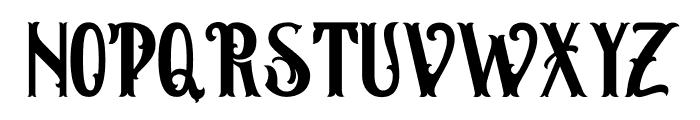 Hamburg Regular Font UPPERCASE