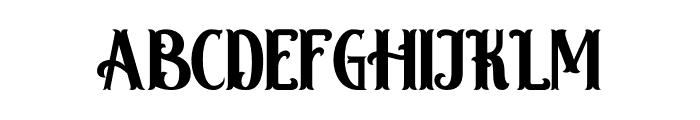 Hamburg Regular Font LOWERCASE