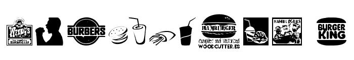 Hamburger Font OTHER CHARS
