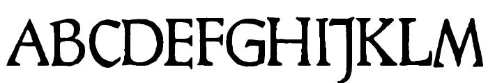 HamletOrNot Font UPPERCASE