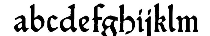 HamletOrNot Font LOWERCASE