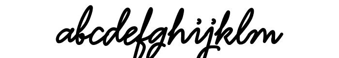 Hamline Demo Font LOWERCASE