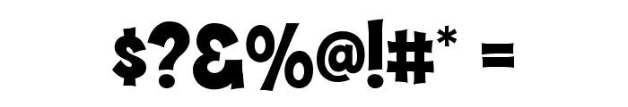 Hammer Bro Mutants Font Medium Font OTHER CHARS