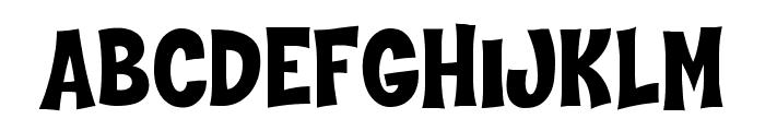 Hammer Bro Mutants Font Medium Font UPPERCASE
