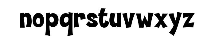 Hammer Bro Mutants Font Medium Font LOWERCASE