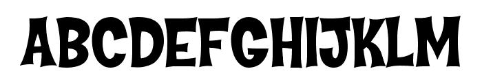 Hammer Bro Titans Font Medium Font UPPERCASE