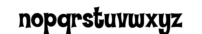 Hammer Bro Titans Font Medium Font LOWERCASE