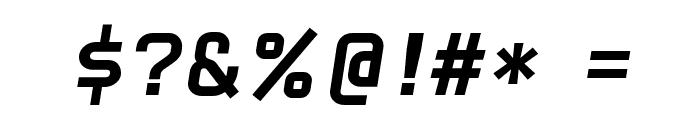 HammerBro101 Movie Bold Italic Regular Font OTHER CHARS
