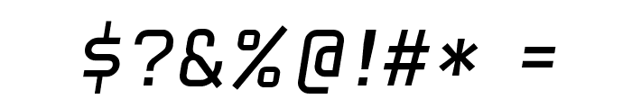 HammerBro101 Movie Reg Italic Regular Font OTHER CHARS