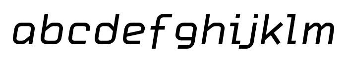 HammerBro101 Movie Reg Italic Regular Font LOWERCASE