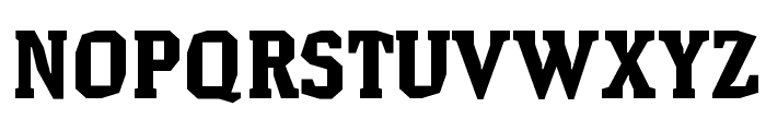 HammerheadBlack Font UPPERCASE