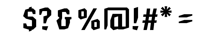 HammerheadBold Font OTHER CHARS