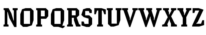 HammerheadBold Font UPPERCASE