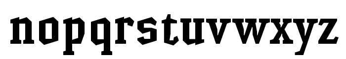 HammerheadBold Font LOWERCASE