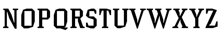 HammerheadMedium Font UPPERCASE