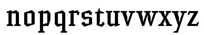 HammerheadMedium Font LOWERCASE