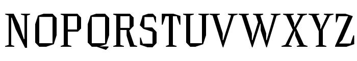 HammerheadRegular Font UPPERCASE