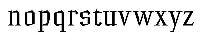 HammerheadRegular Font LOWERCASE