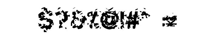 Hammeroid Font OTHER CHARS
