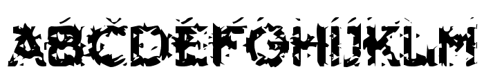 Hammeroid Font UPPERCASE