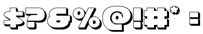 Han Solo 3D Font OTHER CHARS