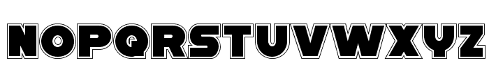 Han Solo Academy Font LOWERCASE