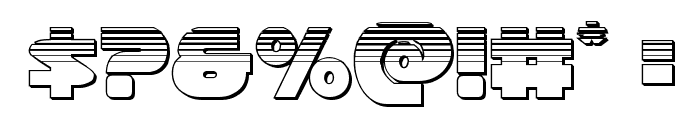 Han Solo Platinum Font OTHER CHARS