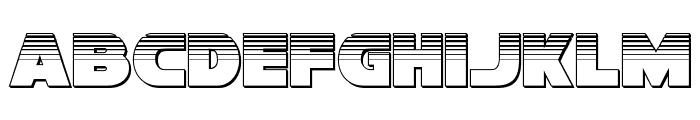 Han Solo Platinum Font LOWERCASE