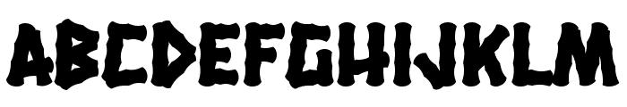 Hanalei Fill Font LOWERCASE