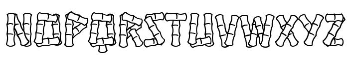Hanalei Font UPPERCASE