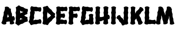HanaleiFill-Regular Font LOWERCASE