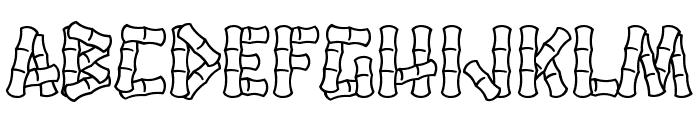 Hanalei Font LOWERCASE