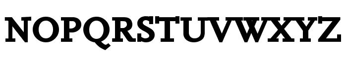 Hanch Bold Font UPPERCASE