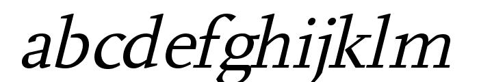 Hanch Italic Font LOWERCASE