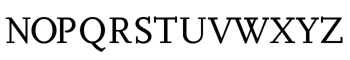 Hanch Font UPPERCASE