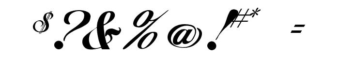Hancock Font OTHER CHARS