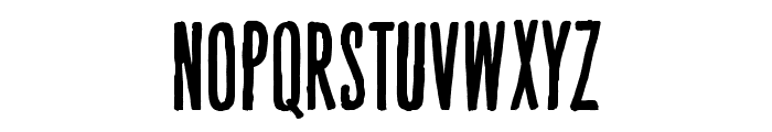 Hand Book Font UPPERCASE