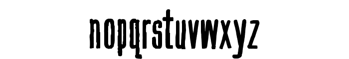 Hand Book Font LOWERCASE