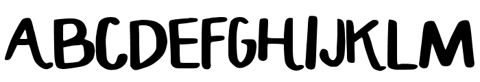 HandCrafted_Maddy Font LOWERCASE