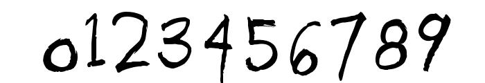 HandORand Font OTHER CHARS