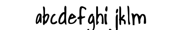 HandPrinting Font LOWERCASE