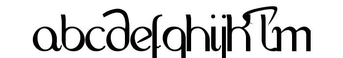 HandScript LCase 4LR Font UPPERCASE