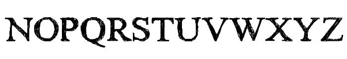HandTIMES Font UPPERCASE