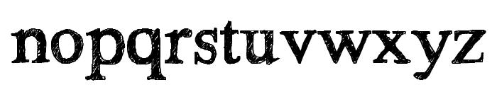 HandTIMES Font LOWERCASE