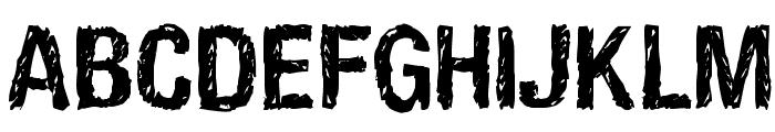 HandVetica Bold Font UPPERCASE