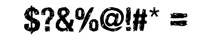HandVetica Font OTHER CHARS