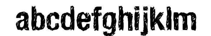 HandVetica Font LOWERCASE